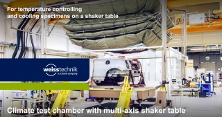 Climate test chamber with multi-axis shaker table_MAST_Weiss Technik