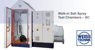 SC, Walk-in salt spray test chamber