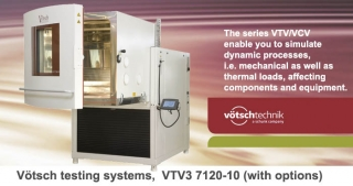 VTV_VCV Temperature, climatic, vibration test chamber, Vötsch