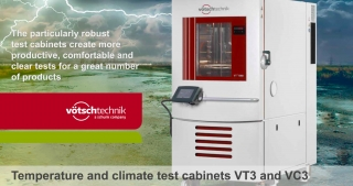 VT3, VC3 temperature and climate test cabinet, Votsch