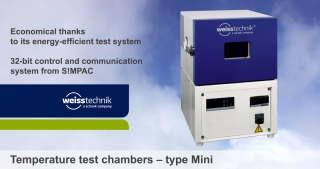 Temperature test chambers, type Mini, Weiss Technik