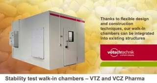 Stability test walk-in chambers, VTZ, VCZ Pharma