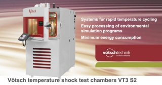 Vötsch temperature shock test chambers VT3 S2