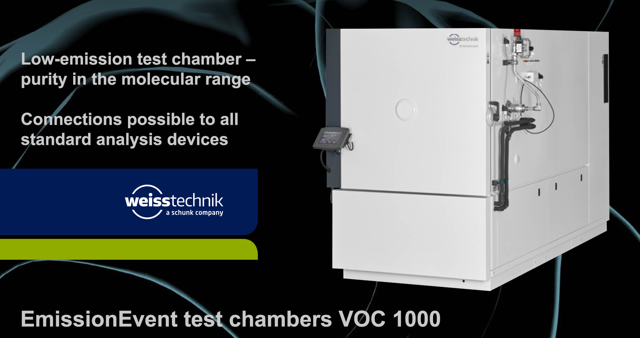EmissionEvent test chamber VOC 1000