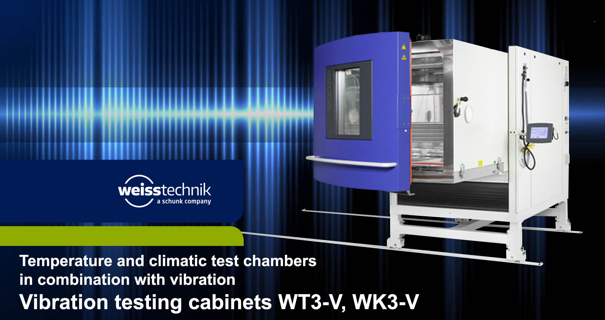 Vibration testing cabinets, WT3-V, WK3-V, Weiss