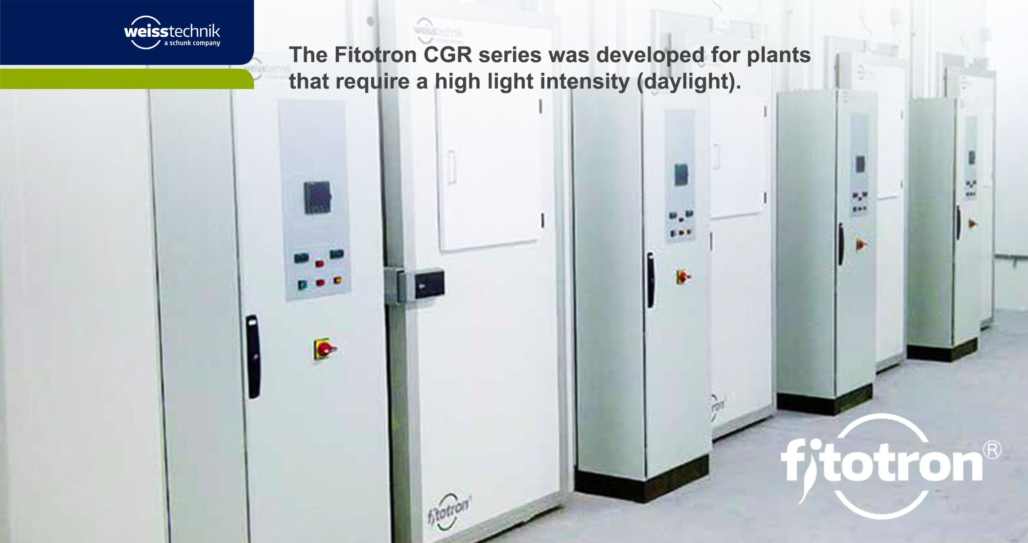 Fitotron CGR Walk-In Growth Rooms