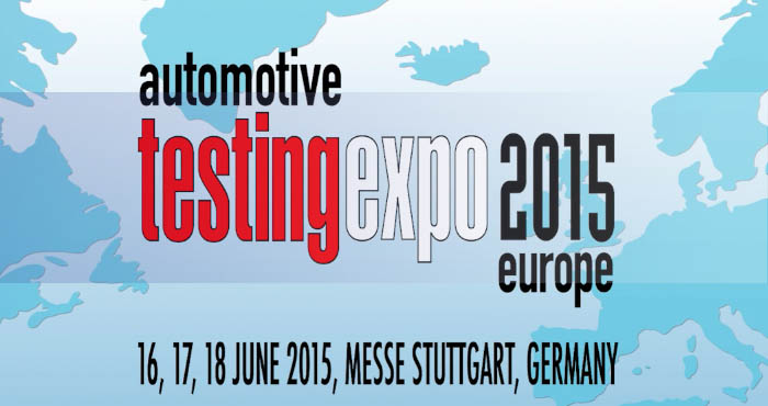 Automotive Testing Expo Europe 2015