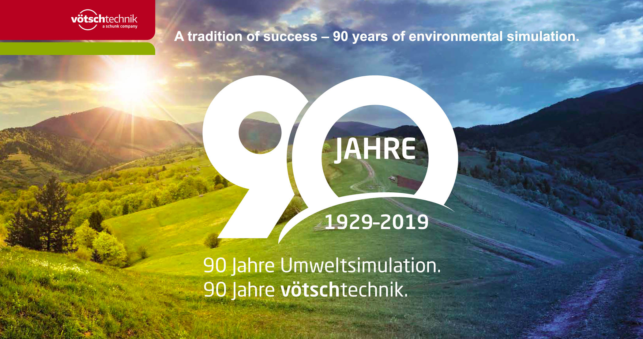 90 years of environmental simulation_Votsch