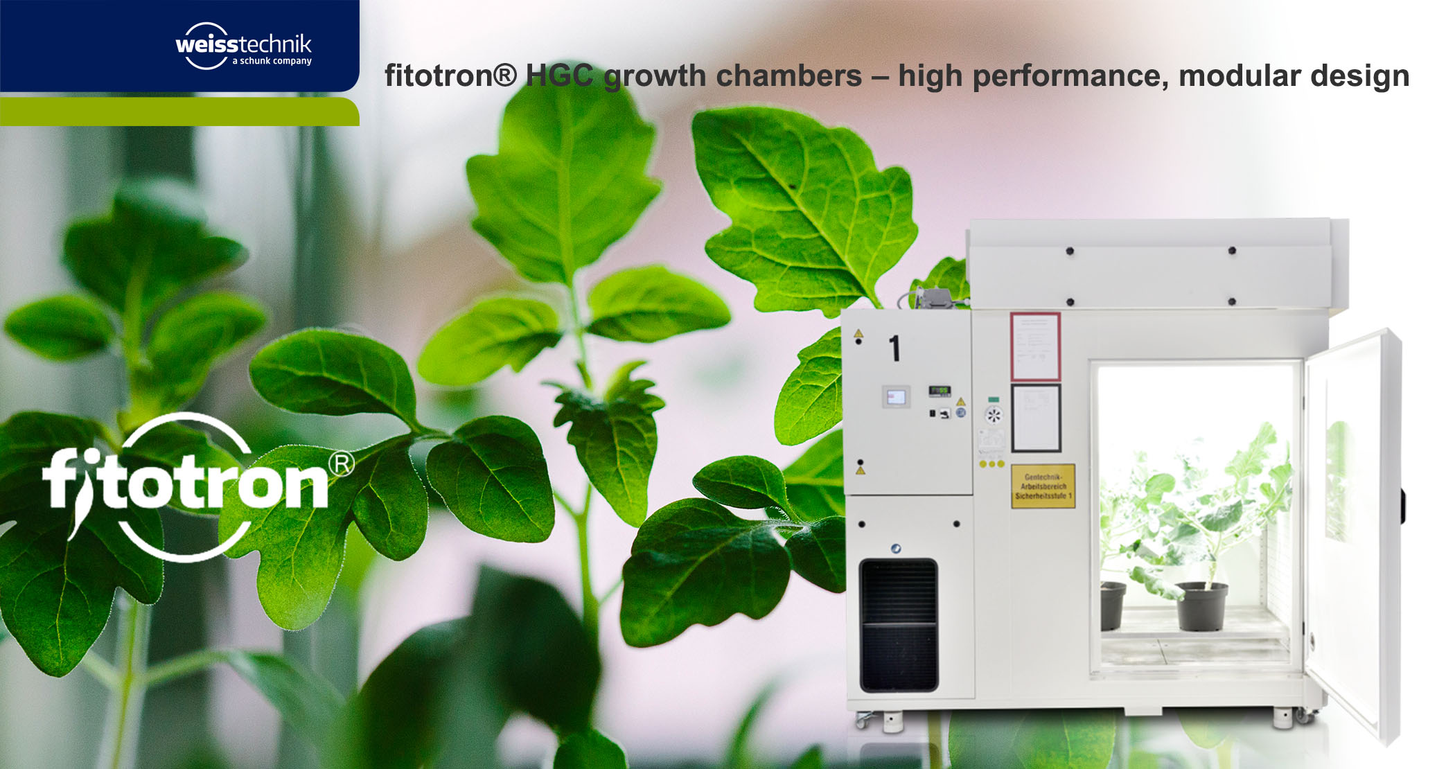 Fitotron HGC modular plant growth chambers