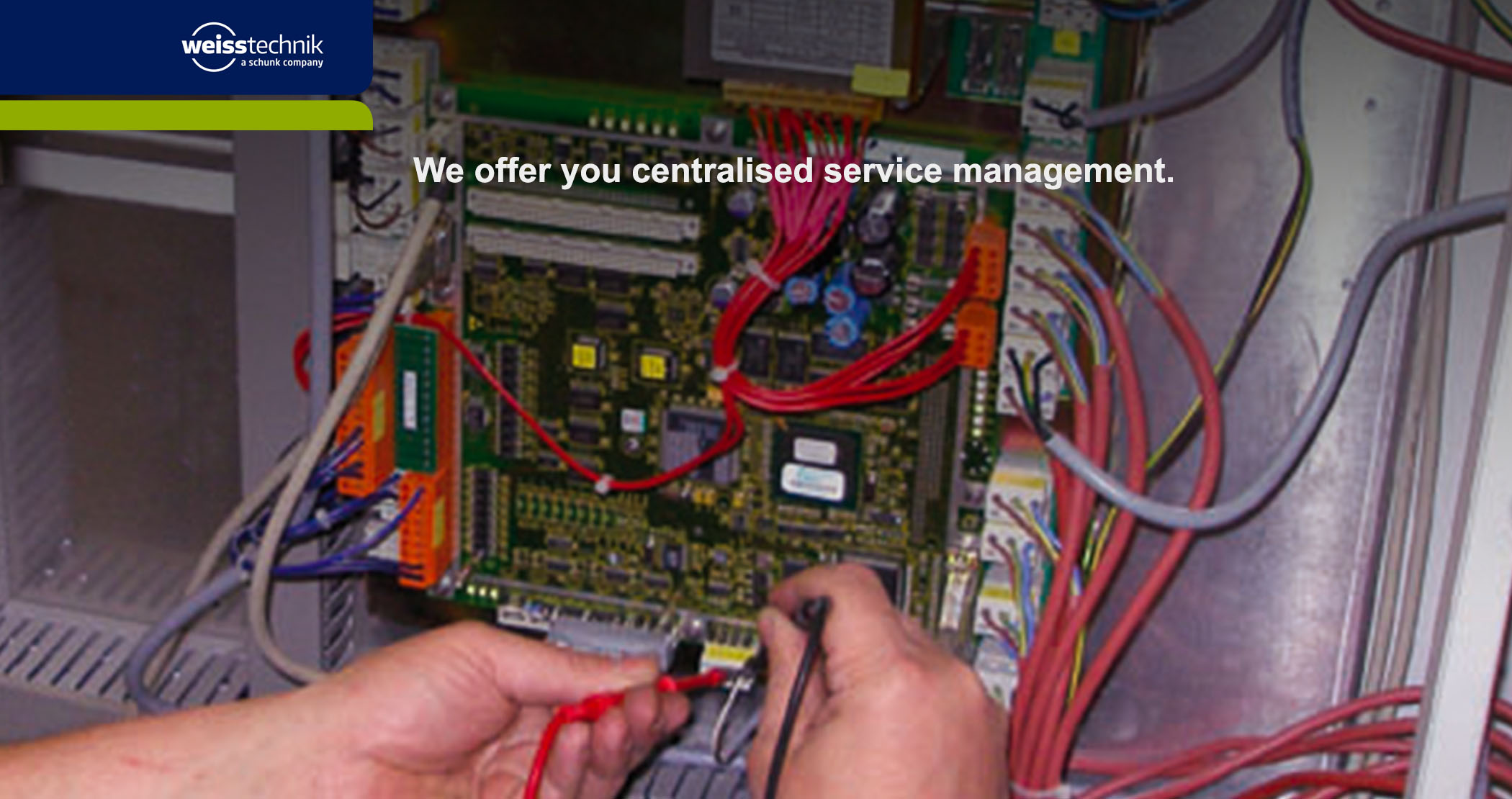 Amtest service management