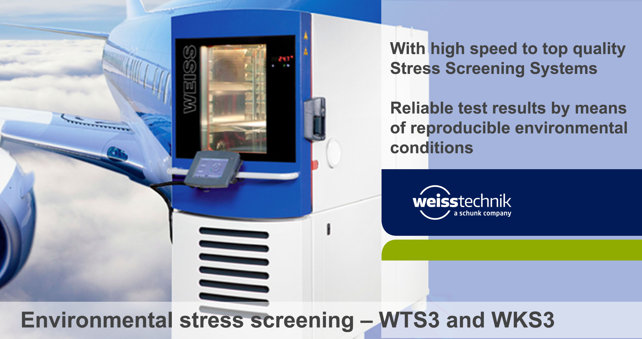 Vibration test chambers, WT-V, WK-V - Environmental stress screening -  Climate chamber – Amtest, test and measurement