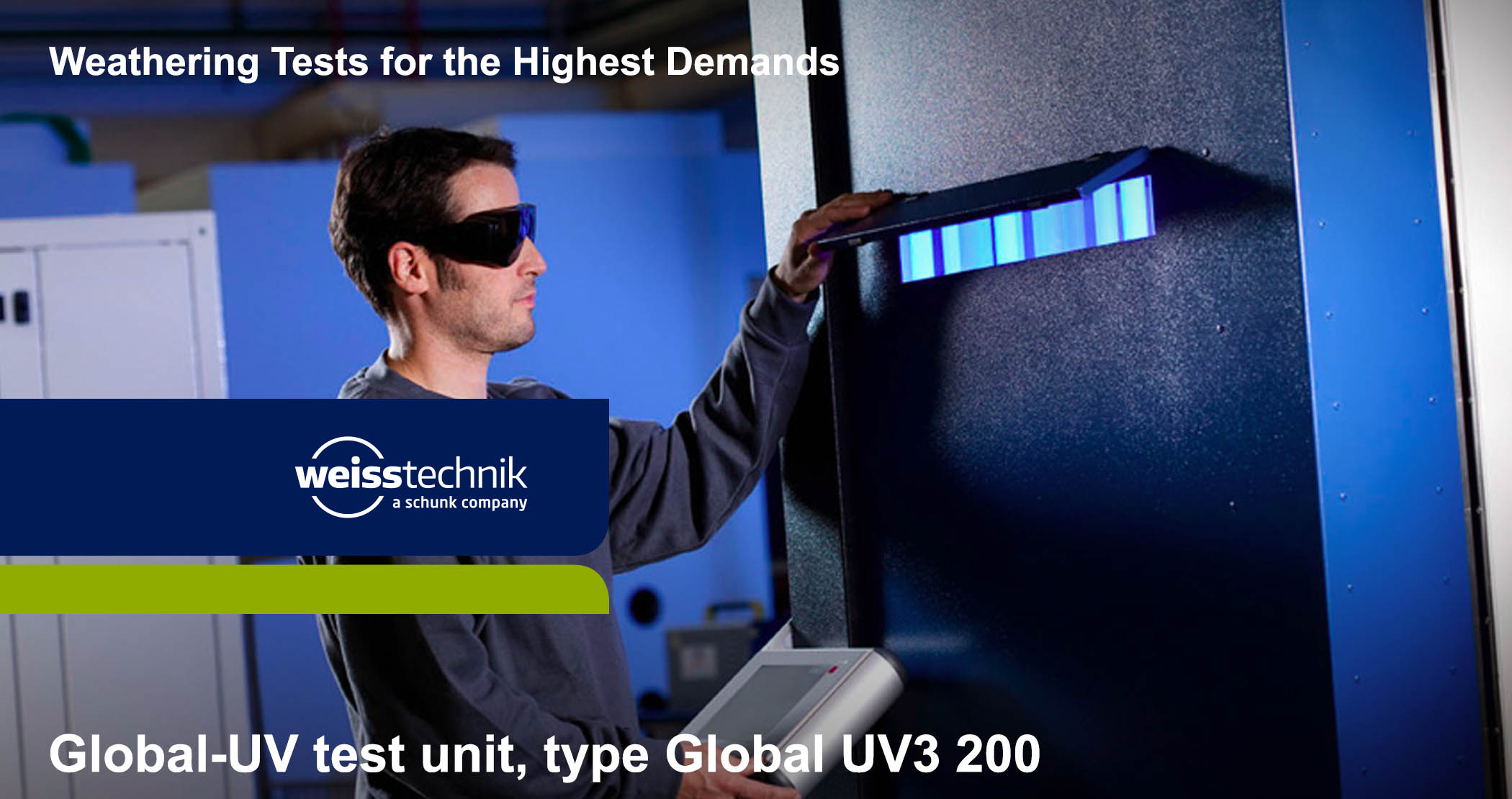Global UV3 200 test unit