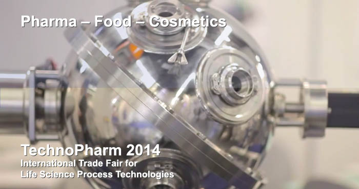 TechnoPharm 2014 - International trade fair for Life Science process technologies