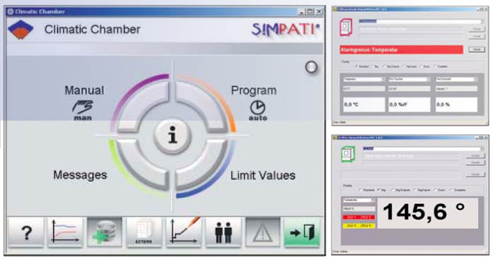 Weiss Control System Software Simpati Remote Management