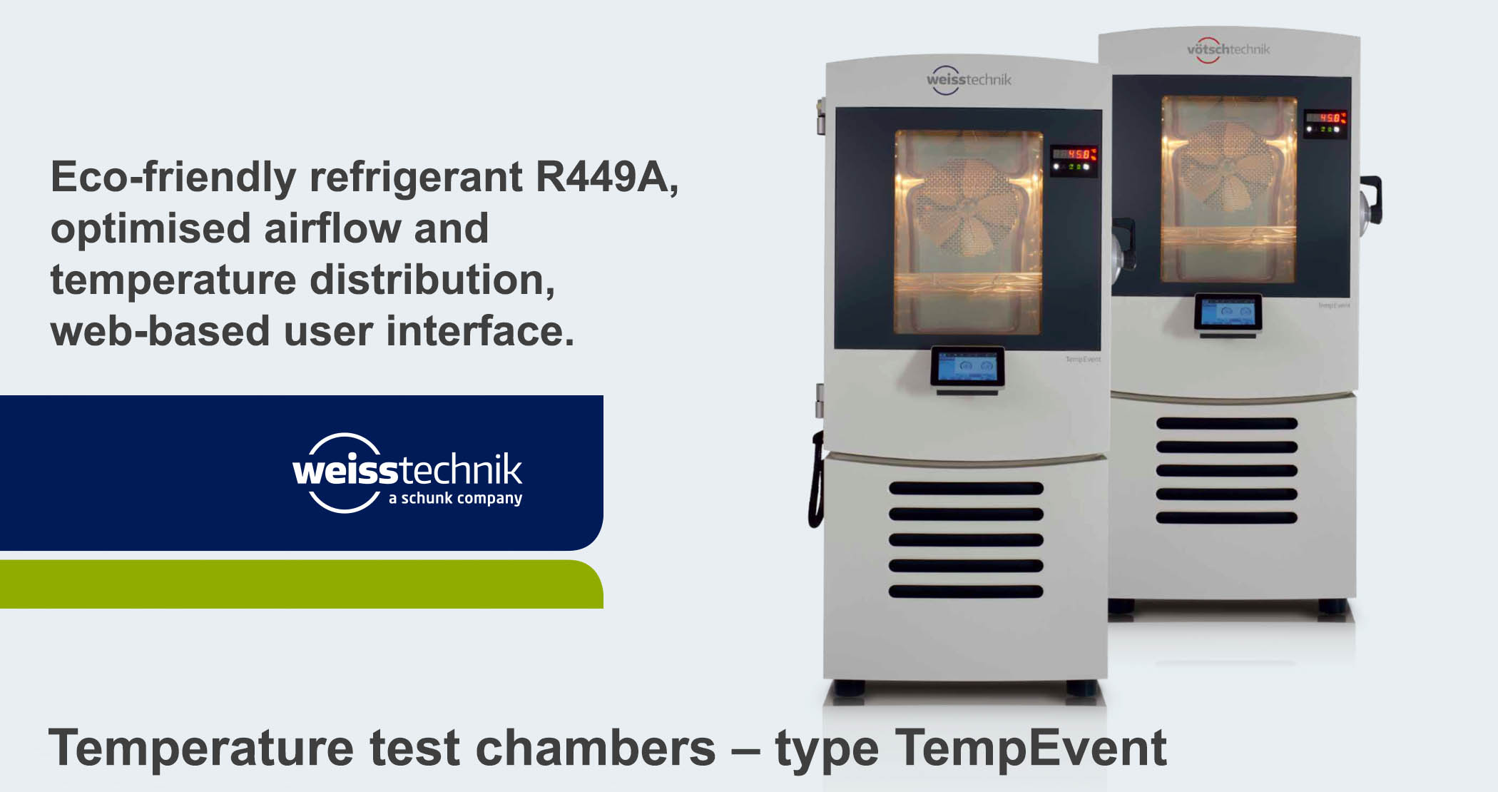 Temperature test chambers TempEvent_2