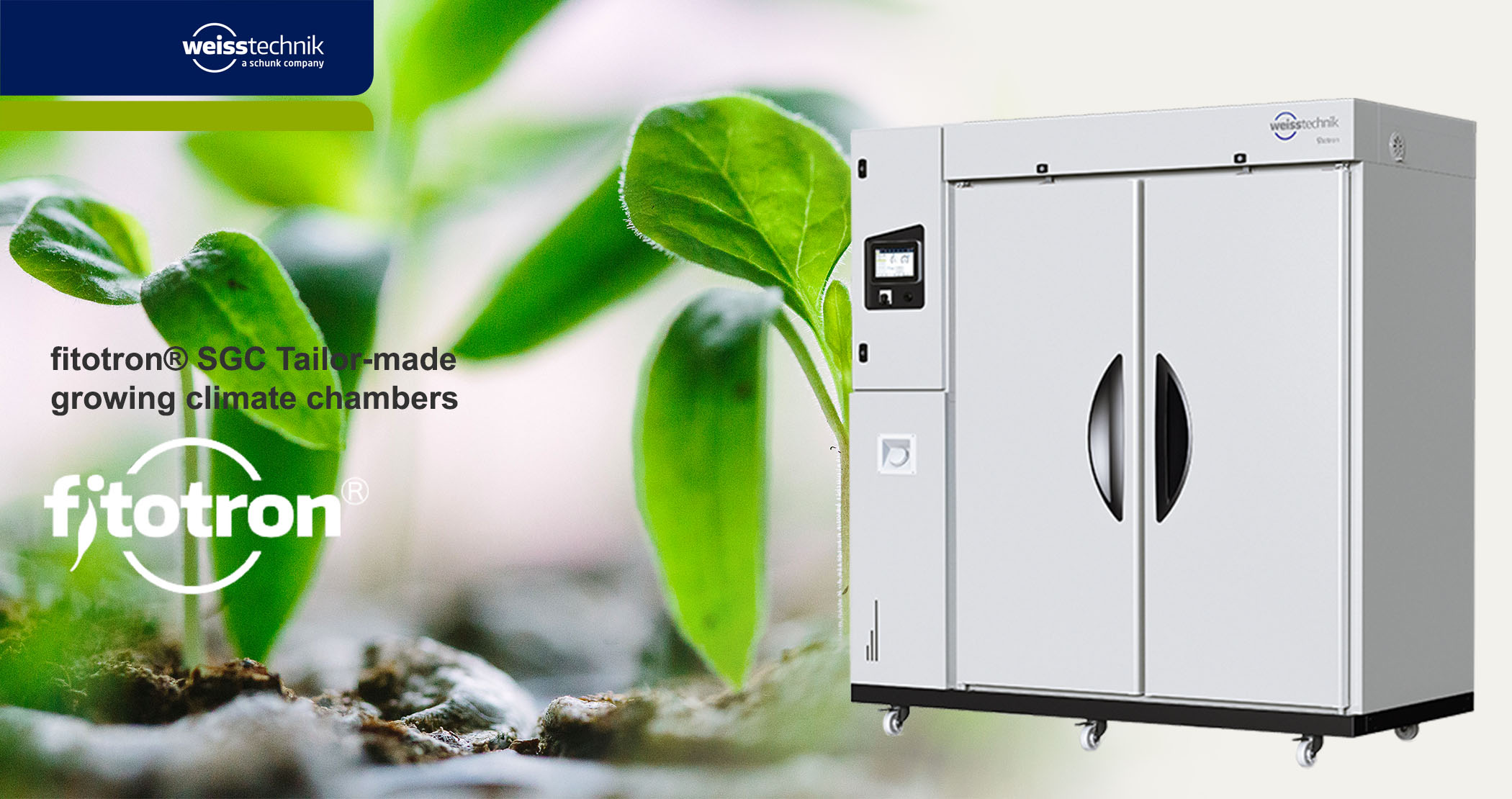 Fitotron SGC Tailor-made growing climate chambers
