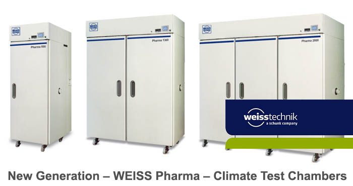 Weiss pharma climate test chambers