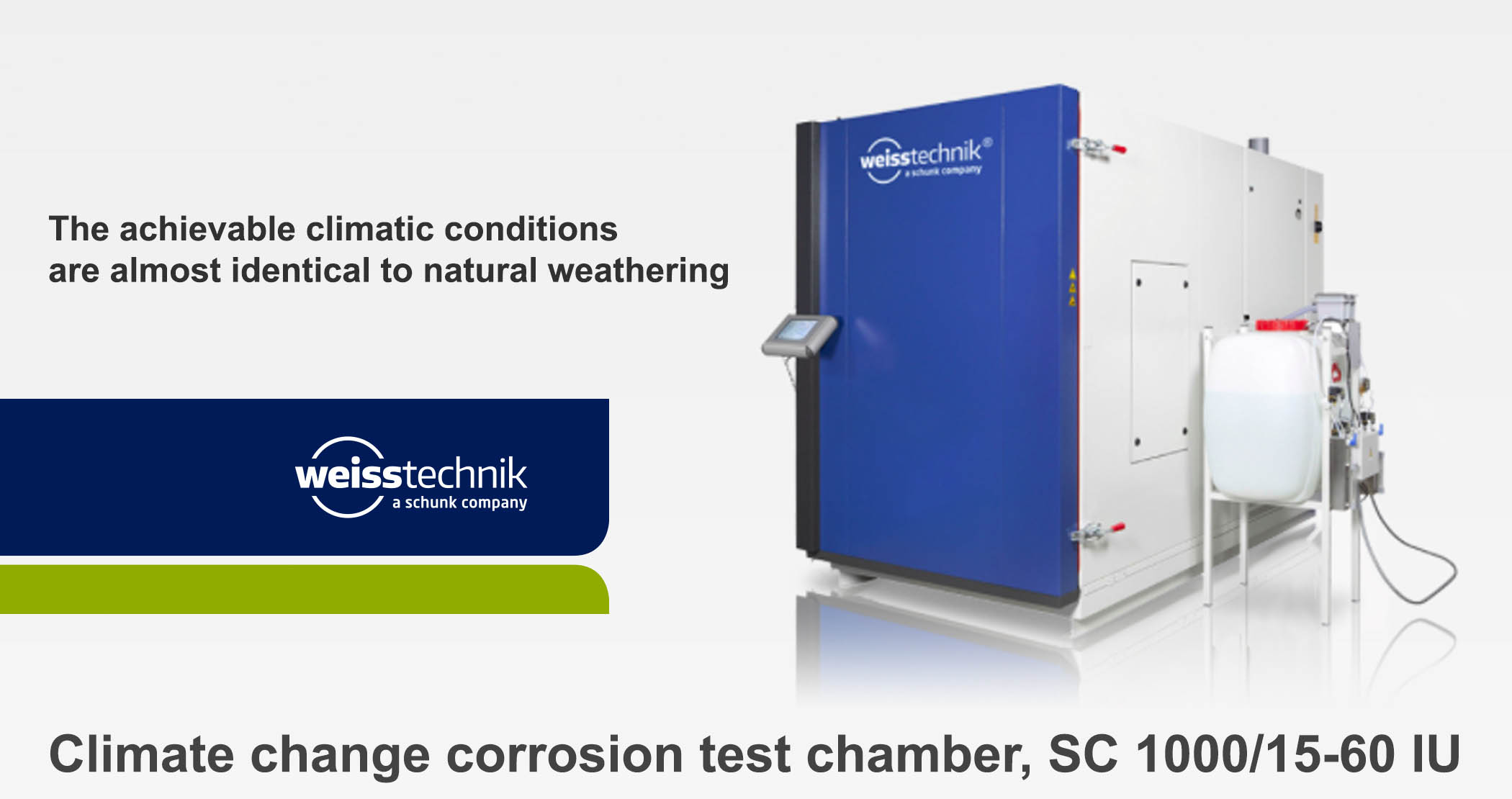 Corrosion Test Chamber : Environmental simulation test chambers climate chamber
