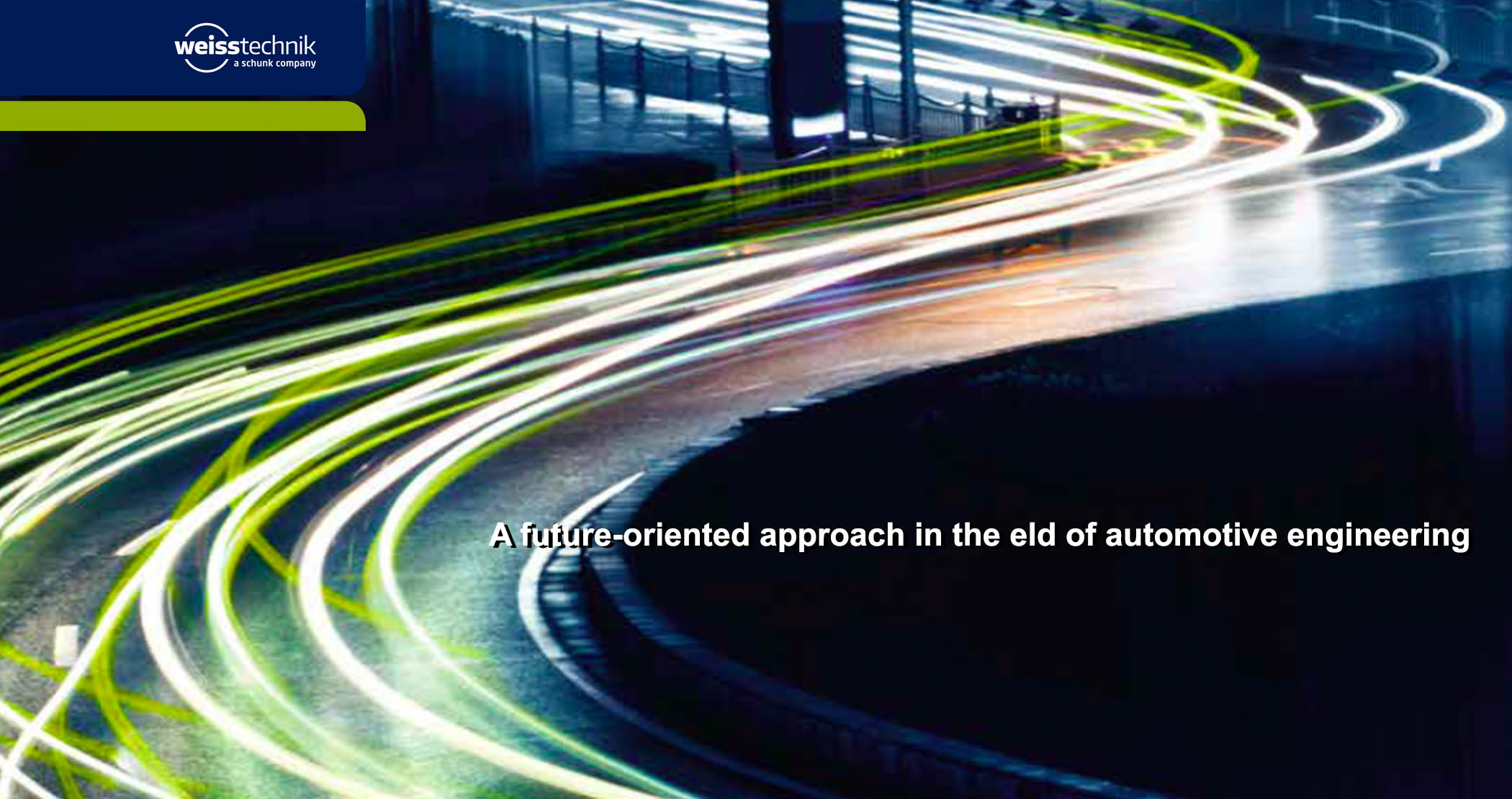 A future-oriented automotive industry