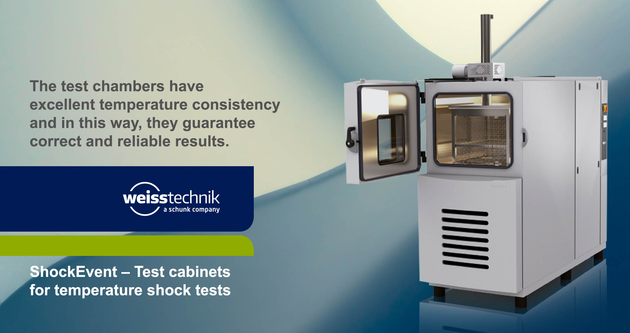 ShockEvent, Test chamber, temperature shock tests